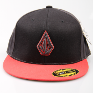Volcom Cap 2 Stone 210 Fitted Hat BLC