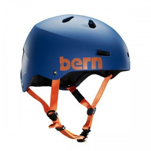 Bern Helm Macon EPS Matte Navy Blue (summer Liner)