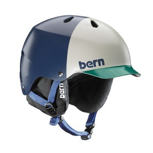 Bern Helm Watts EPS Navy Blue Hatstyle with Cordova Liner