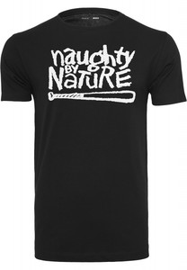 Naughty by Nature Logo Tee Black