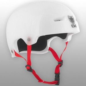 TSG Helmet Evolution Graphic Special - Clear White