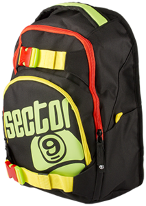 Sector 9 Backpack Pursuit - Rasta