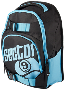 Sector 9 Backpack Pursuit - Black/ Blue