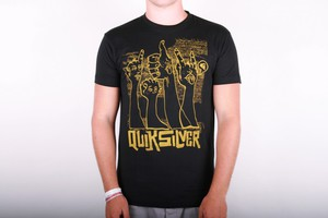 Quiksilver T-shirt Thumbs - Black