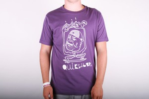Quiksilver T-shirt The King of Truck - Purple