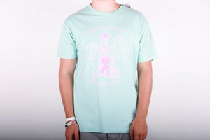 Quiksilver T-shirt Mad Waxer - Turquoise