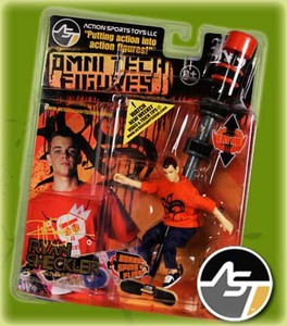 AST Omni Tech Figures Ryan Sheckler
