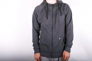 Volcom Timemachine Ultraslim Zip Hoody black