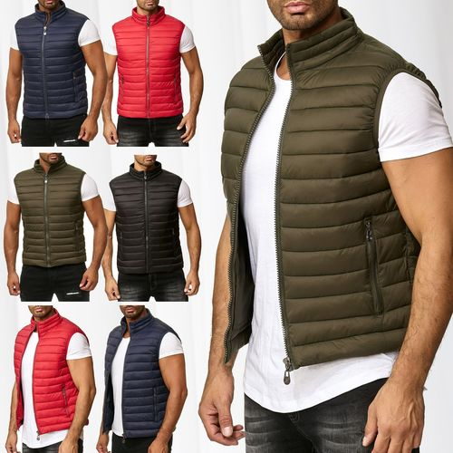 buy popular 6b158 6e441 Herren Steppweste Ärmellose Jacke Outdoor Weste H2503