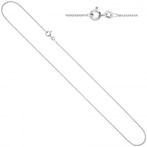 Silberkette 2mm Ankerkette Collier Halskette aus 925 Silber diamantiert 50cm
