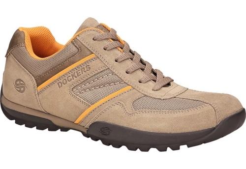 Dockers by Gerli 36HT020 Herren Halbschuhe Sneakers Schuhe Taupe