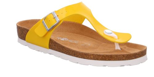 Rohde Alba 5610 20 Damen Sandale Sandalette Zehentrenner 20 Gelb