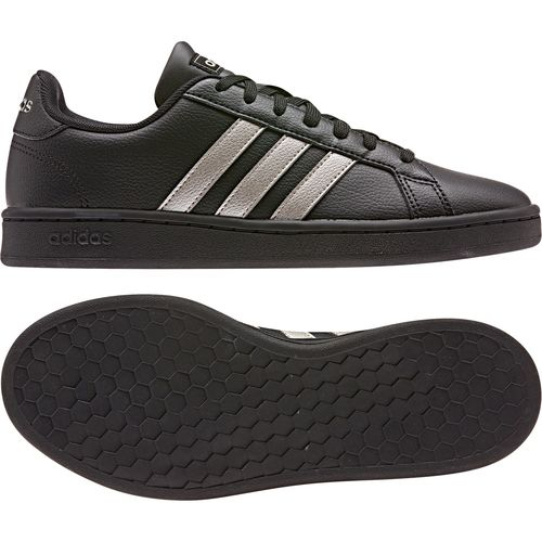 adidas GRAND COURT Damen Schuhe Sneaker Low Top EE8133 Schwarz