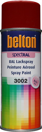 belton Lackspray RAL 3002 Karminrot - 400ml Spraydose