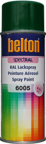 belton Lackspray RAL 6005 Moosgrün - 400ml Spraydose