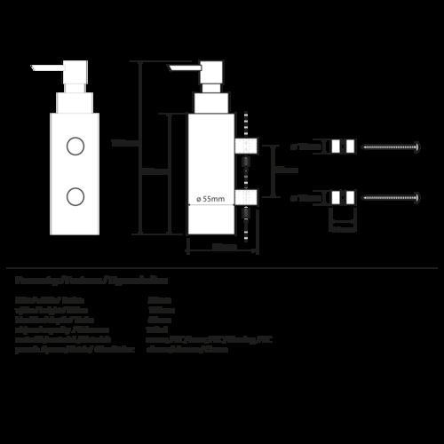 Handelsagentur Lagerdeal F/önhalter 100 x 75 x 55 mm
