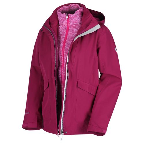 Regatta Damen 3 in 1 Funktionsjacke, Wasserdicht und Atmungsaktiv, Calyn III (RWP291)
