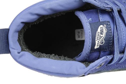VANS Classic SK8 HI MTE Winter Sneaker Schuhe Leder VA33TXQWY blau