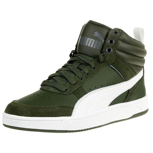 Puma Rebound Street V2 Sneaker Herren Schuhe grün 363715 09