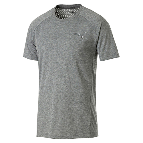 PUMA Evostripe Move Tee Herren T shirt Sportswear 854071 03 grau