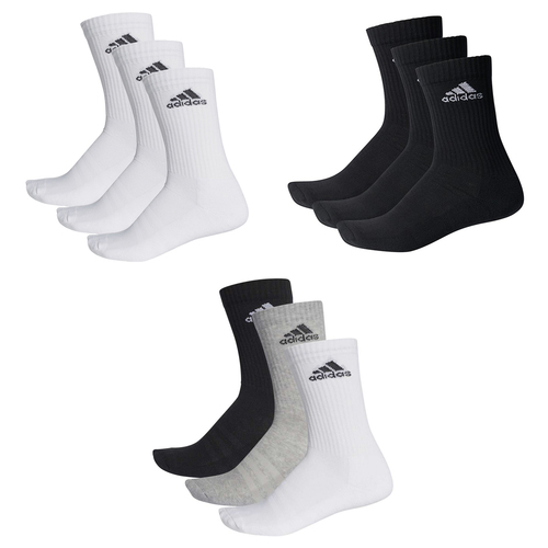 3 Paar adidas Performance CUSHIONED CREW 3p Tennissocken Sportspocken Unisex