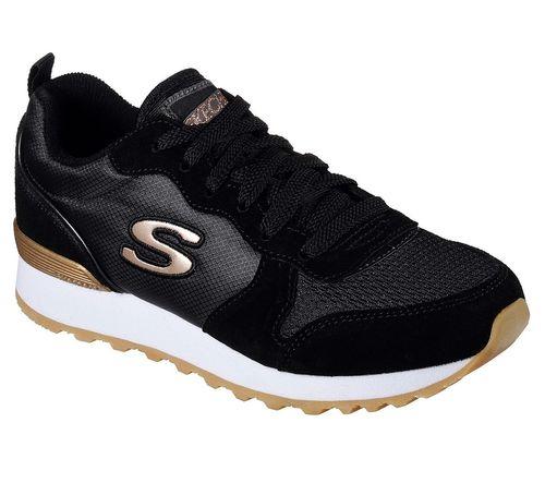 Skecher Street OG 85 GOLDN GURL Sneakers Frauen Schwarz | 35 PLqNn