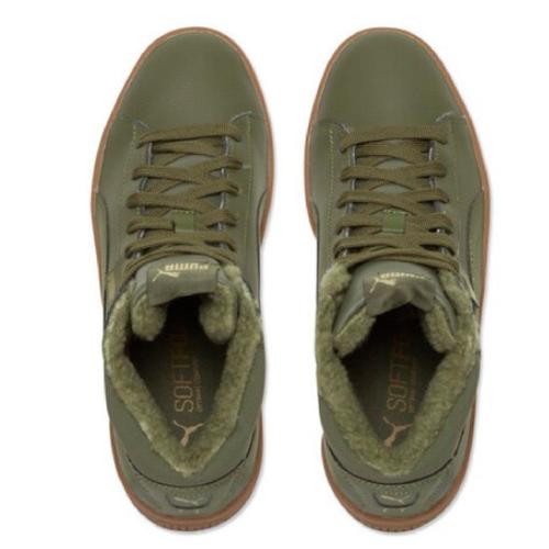 Puma 1948 Mid LFS FUR Sneaker oliv 368423 01