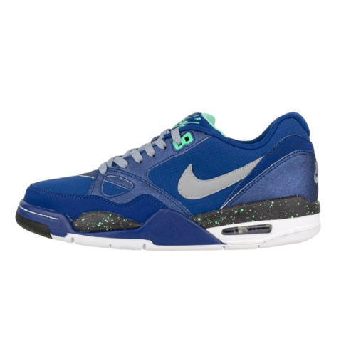Nike Air Max Flight 13 Low Basketball Sneaker blau/grau/schwarz/weiß