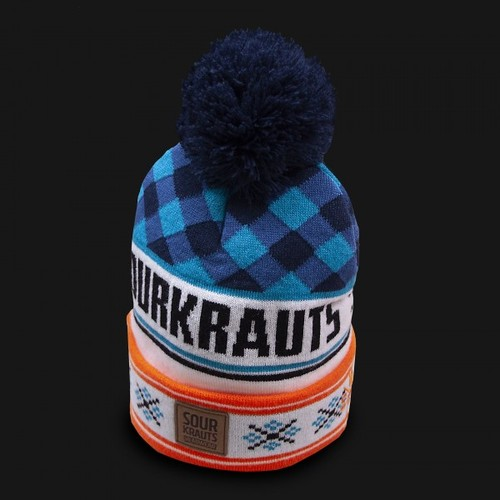 Sourkrauts Bobblehat blue orange