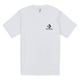 Converse Left Chest Star Chevron Tee White T-Shirt Herren weiß