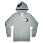 Converse Star Chevron Graphic FZ Herren Hoodie full Zip grau