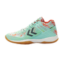 Hummel Aero Volley Fly Indoor Volleyball Handball Schuhe iced-aqua 201095-7325