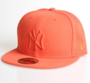 New Era Cap 59-Fift NY orange