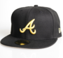 New Era Cap 59-Fifty Atlanta Braves black/yellow Seasonal Basic